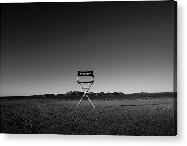 Acrylic Print featuring the photograph Director's Cut by Brendan North