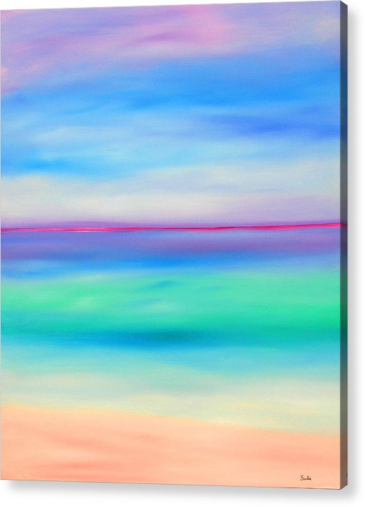 Caribbean Acrylic Print featuring the painting Sea Jewels by Sula Chance