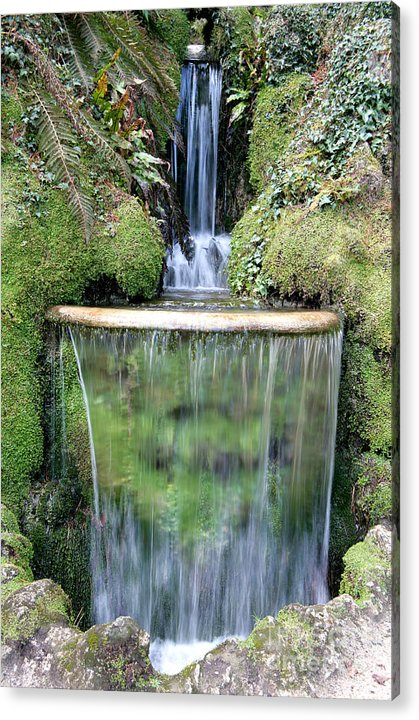 Powerscourt Cascade Ireland Acrylic Print