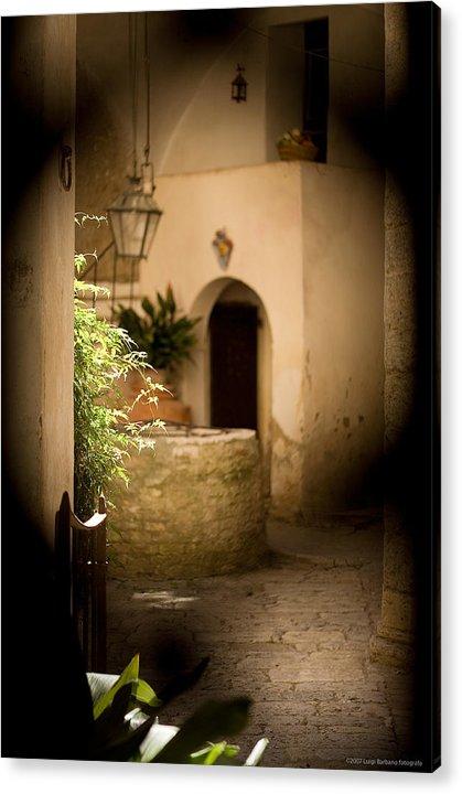 Italy Acrylic Print featuring the photograph Sangimignano 1 by Luigi Barbano BARBANO LLC