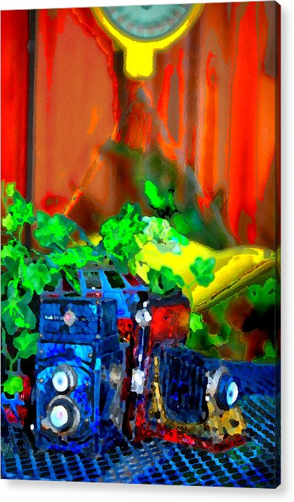 Acrylic Print featuring the photograph Old Fashioned by Danielle Stephenson