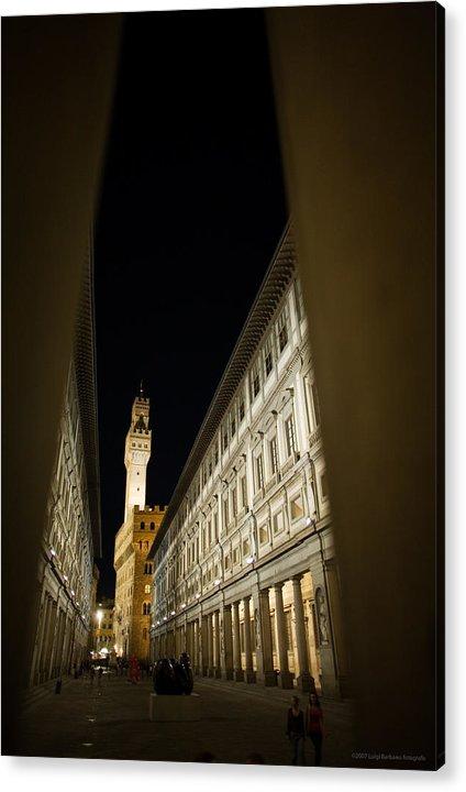 Italy Acrylic Print featuring the photograph Uffizi by Luigi Barbano BARBANO LLC