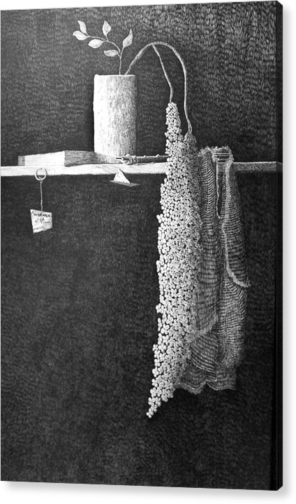 Still Life Acrylic Print featuring the painting Wish Area by A Robert Malcom