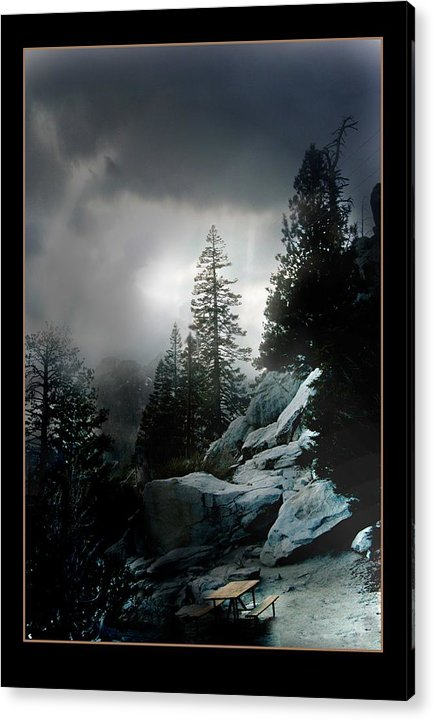 Landscape Acrylic Print featuring the photograph Above Palm Springs by Richard Gordon