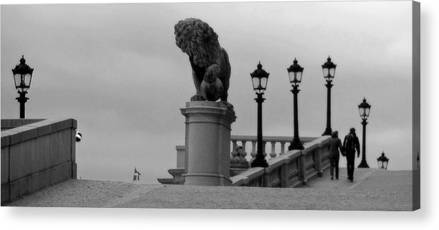 Stockholm Acrylic Print featuring the photograph Stockholm Sweden by Jim McCullaugh