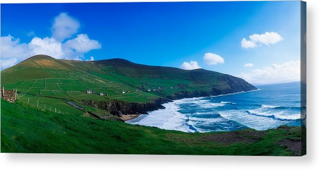 Atmosphere Acrylic Print featuring the photograph Slea Head, Dingle Peninsula, Co Kerry by The Irish Image Collection