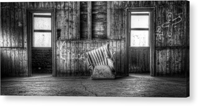 Hdr Acrylic Print featuring the photograph Grace by Scott Norris