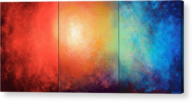 Abstract Acrylic Print featuring the painting One Verse by Jaison Cianelli