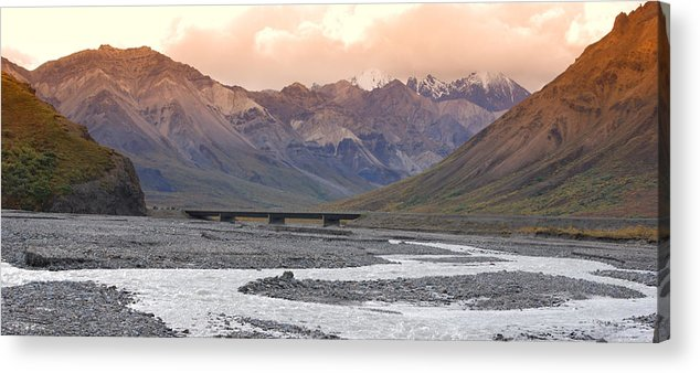Alaska Acrylic Print featuring the photograph Savage River by Jim Cook