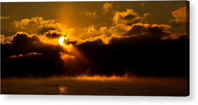 Horizons Acrylic Print featuring the photograph Zero Degree Steam by Phil Koch