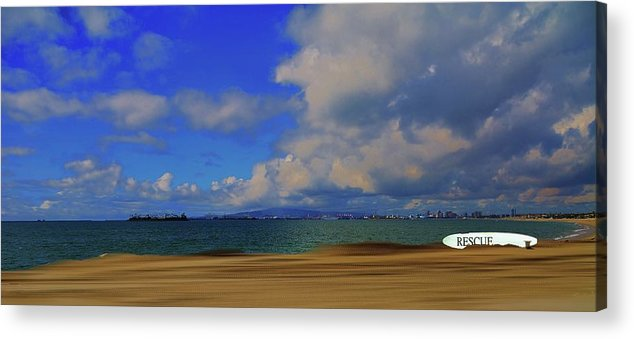 Beach Acrylic Print featuring the photograph California Coast by John R Williams
