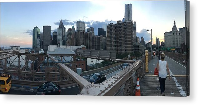 Acrylic Print featuring the photograph NYC by Ashley Torres
