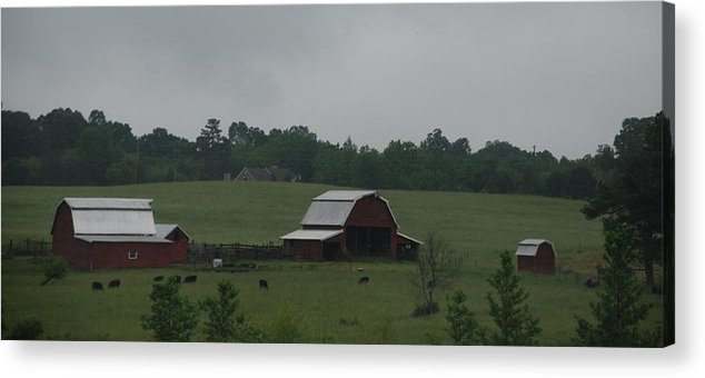 Barn Acrylic Print featuring the photograph Place Called Home by Renee Holder