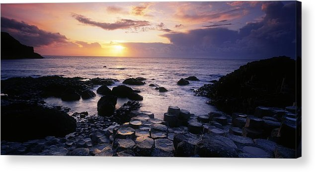 Basalt Acrylic Print featuring the photograph Rocks On The Beach, Giants Causeway by The Irish Image Collection