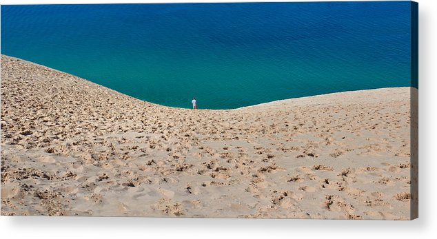 Sleeping Acrylic Print featuring the photograph Sleeping Bear Dunes by Twenty Two North Photography