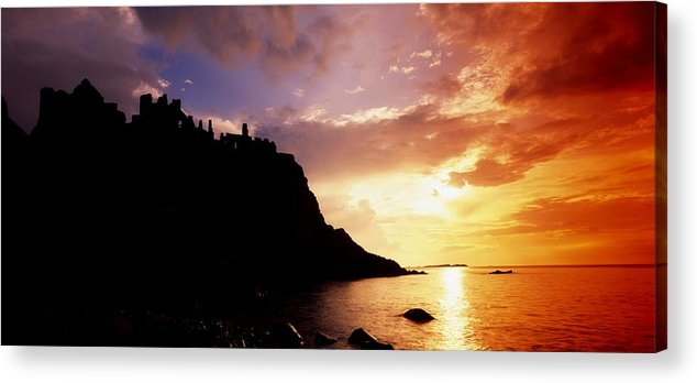 Antrim Acrylic Print featuring the photograph Dunluce Castle, Co Antrim, Ireland by The Irish Image Collection