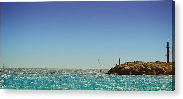 Seascape Acrylic Print featuring the photograph Snap by Phseven Photo