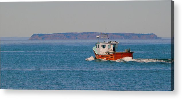 The Island Acrylic Print featuring the photograph The Island by Karen Cook