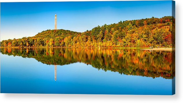 Kittatinny Acrylic Print featuring the photograph High Point Monument by Mihai Andritoiu