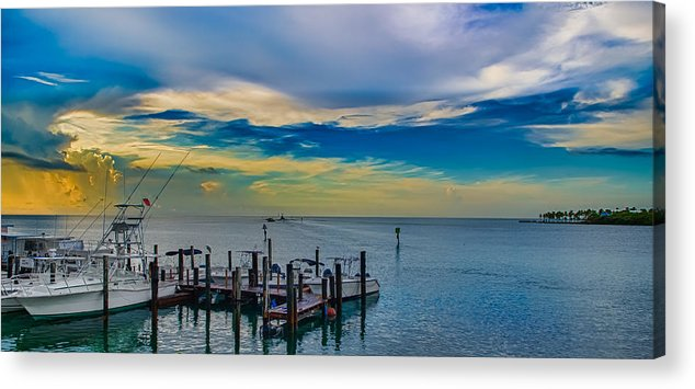 Islamorada Acrylic Print featuring the photograph Let's Go Fishing by Mike Berry