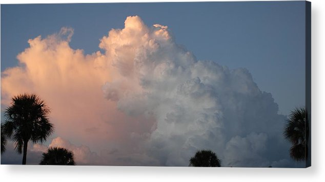 Clouds Acrylic Print featuring the photograph Post Card Clouds by Rob Hans