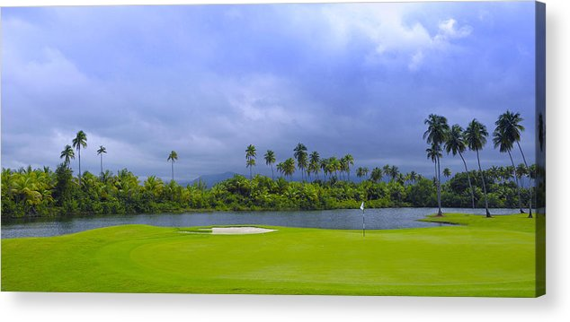 Golf Acrylic Print featuring the photograph Golfer's Paradise by Stephen Anderson