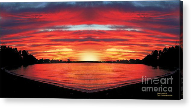 Sunrise Acrylic Print featuring the photograph Sunrise by Anne Ferguson