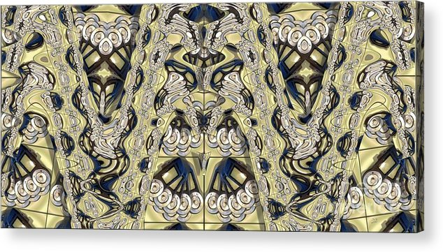 Abstract Acrylic Print featuring the photograph Rca Lyra Pattern by Ron Bissett