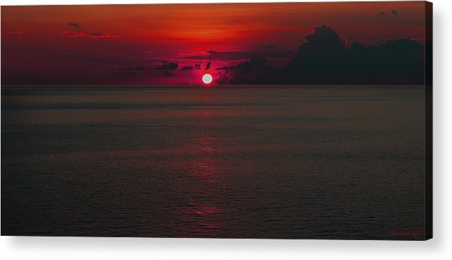 Ocean Acrylic Print featuring the photograph Alien Sea by Justin Zirngibl