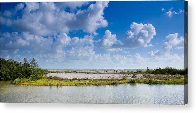 Beach Acrylic Print featuring the photograph Lovers Key Beach by Mike Rivera