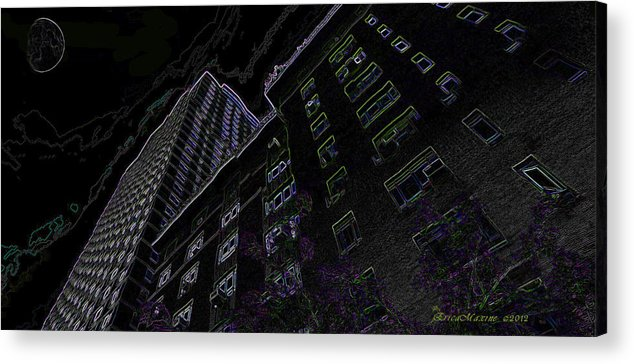 New York City Acrylic Print featuring the photograph 25 Central Park West by Ericamaxine Price