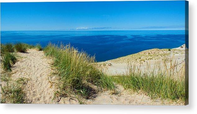 Sleeping Acrylic Print featuring the photograph Sleeping Bear Dunes by Twenty Two North Photography