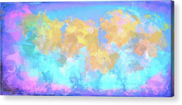 Abstract Acrylic Print featuring the photograph It's A Sunny Day by Robert Kinser