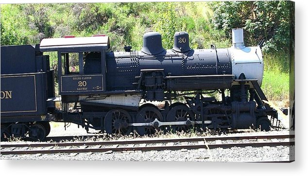 Trains Acrylic Print featuring the photograph Old Choo Choo by Jeff Swan