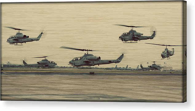 Bell Acrylic Print featuring the photograph Swarming Cobras by Ricky Barnard