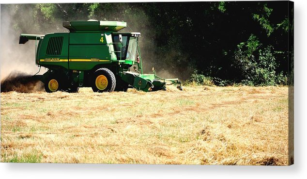 Ag Acrylic Print featuring the photograph Deere 9650 Sts 16006 by Jerry Sodorff