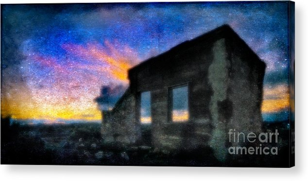 Dusk Acrylic Print featuring the photograph Dusk by Russ Brown