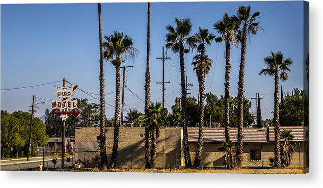 Route 66 Acrylic Print featuring the photograph Motel by Angus Hooper Iii