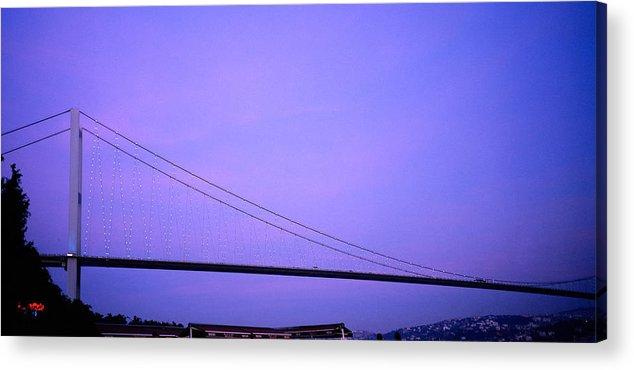 Bridge Acrylic Print featuring the photograph The Bridge by Shaun Higson