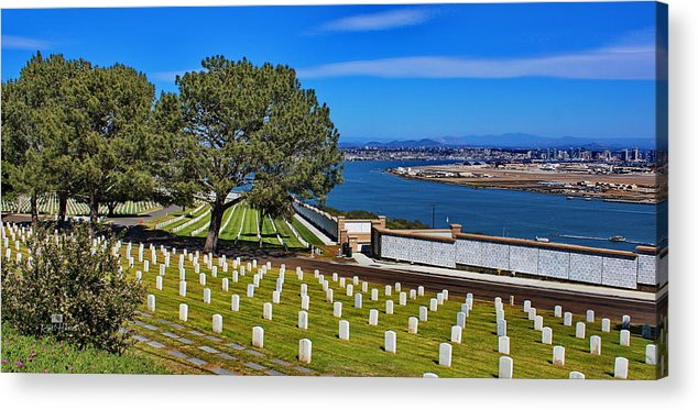 Point Loma Acrylic Print featuring the photograph Amoung Heros by Russ Harris