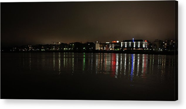 Acrylic Print featuring the photograph Lights by Jussi Vitikka