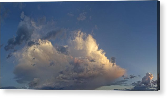 New Mexico Acrylic Print featuring the photograph New Mexico Sky by Nathan Mccreery