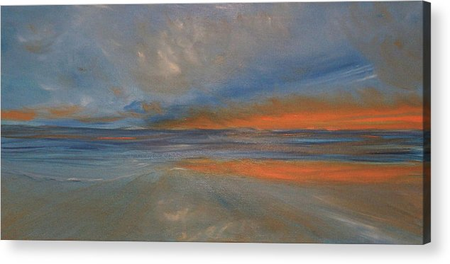 Reflect Acrylic Print featuring the painting Reflection by Robert Wagner