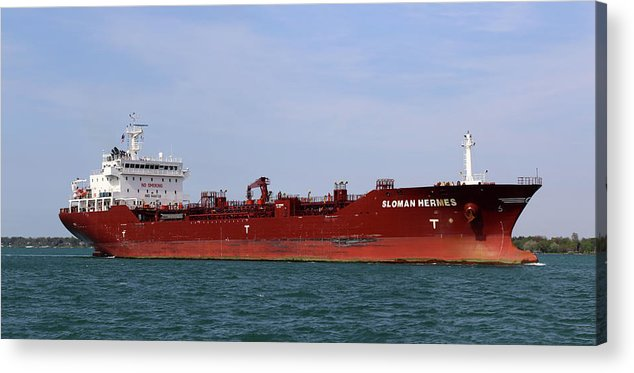 Sloman Hermes Acrylic Print featuring the photograph Sloman Hermes Panorama 051718 by Mary Bedy