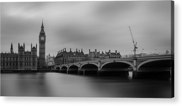 Westminster Bridge Acrylic Print featuring the photograph Westminster Bridge London by Martin Newman