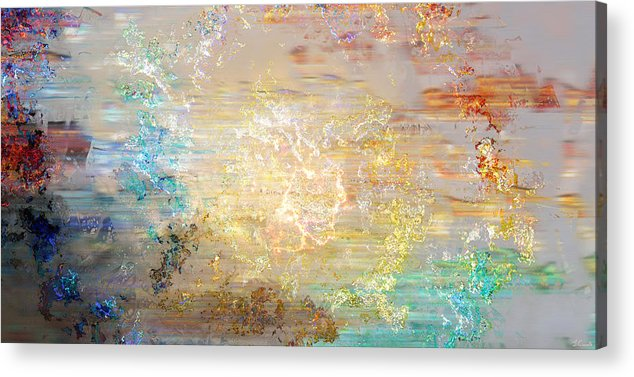 Large Abstract Acrylic Print featuring the painting A Heart So Big - Custom Version 4 - Abstract Art by Jaison Cianelli