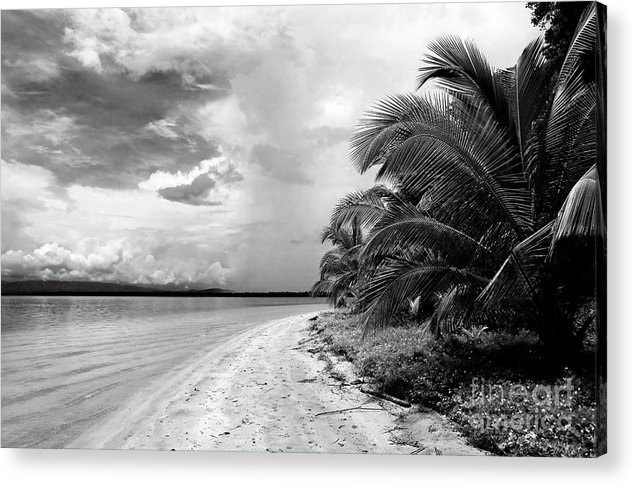 Storm Cloud On The Horizon Acrylic Print featuring the photograph Storm Cloud On The Horizon by John Rizzuto
