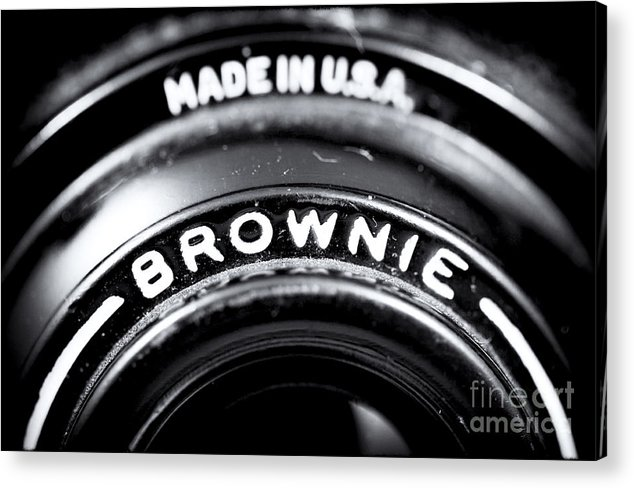 Brownie Acrylic Print featuring the photograph Brownie by John Rizzuto