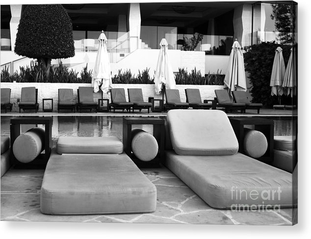 Pool Life Acrylic Print featuring the photograph Pool Life by John Rizzuto