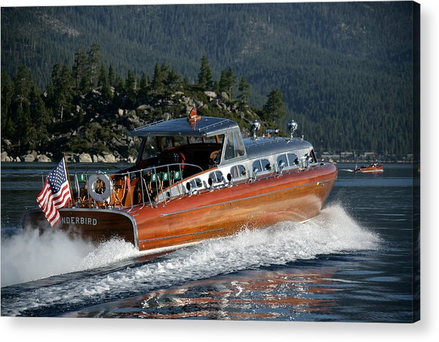 Skiff Acrylic Print featuring the photograph Thunderbird by Steven Lapkin